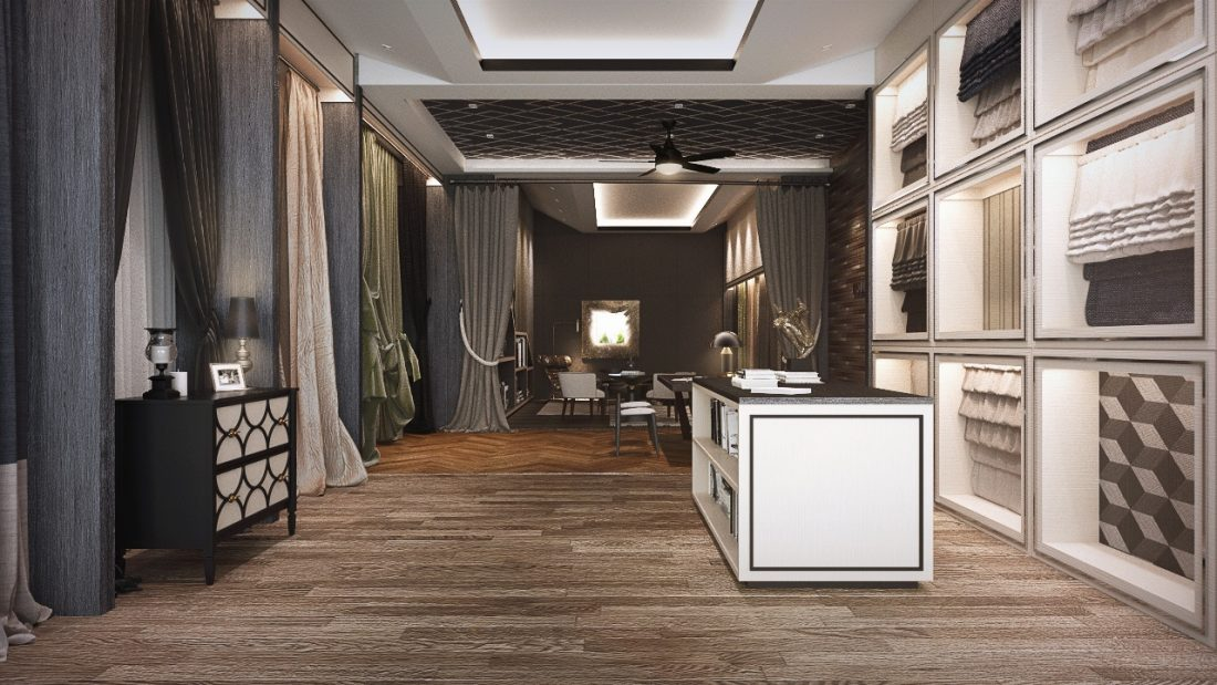 Commercial Interior Design Bella Curtain Penang Malaysia v1