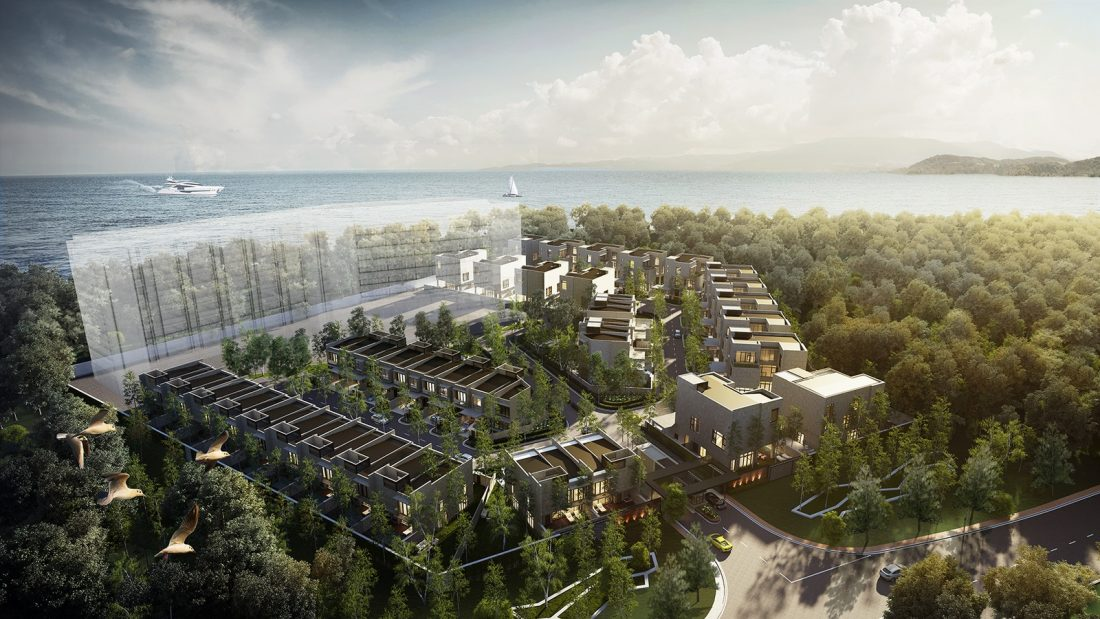Exterior Design Lavanya Residences Langkawi Malaysia