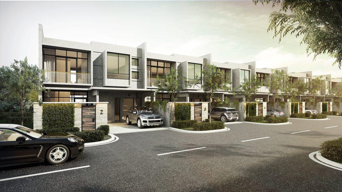 Exterior Design Lavanya Residences Langkawi Malaysia Town Villa