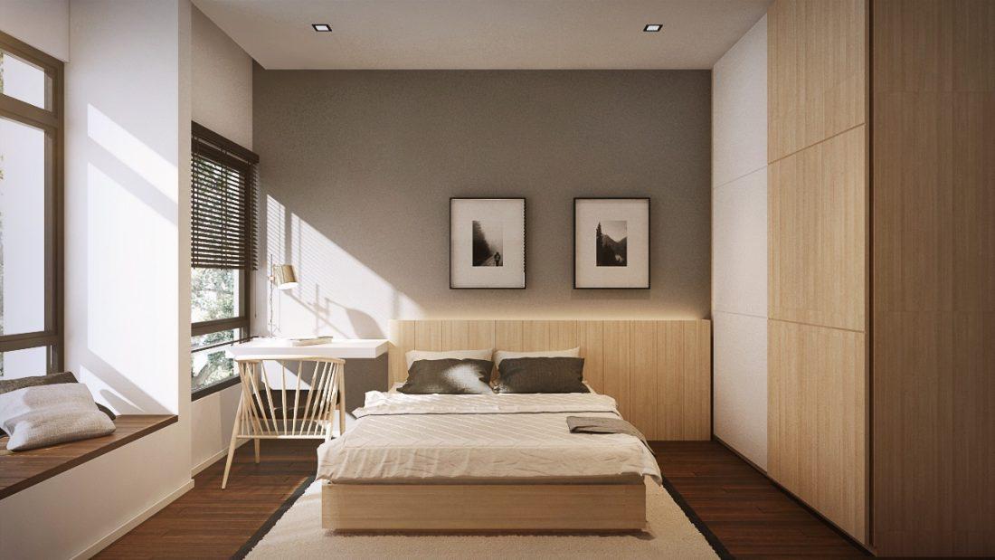 Interior Design LaCosta Kuala Lumpur Malaysia Bedroom 2 V1