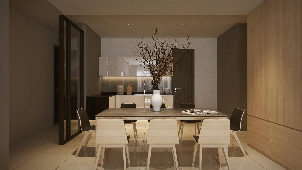 Interior Design LaCosta Kuala Lumpur Malaysia Dining Room V1