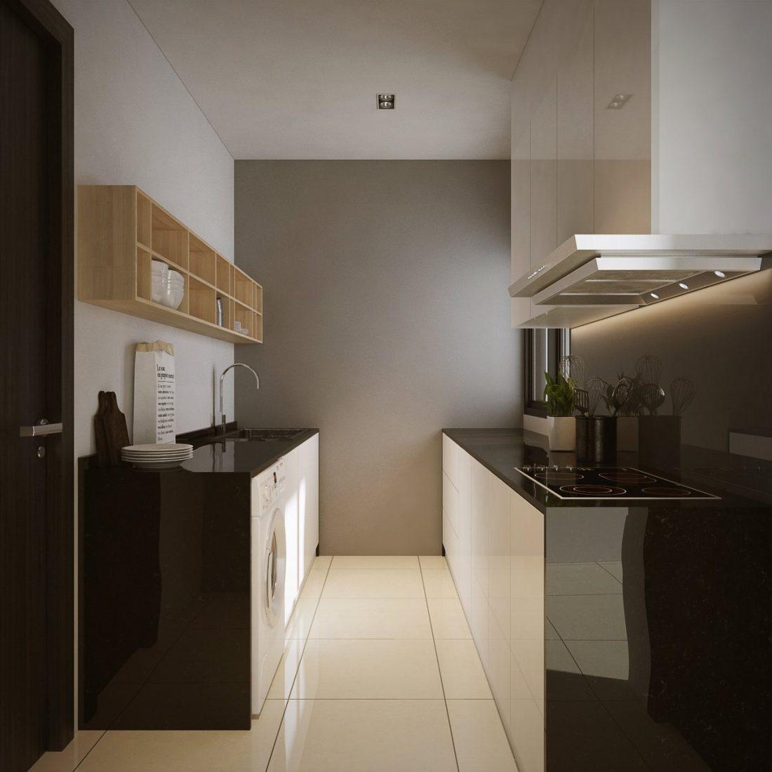 30 Kitchens From Malaysian Interior Designers: La Costa Kuala Lumpur
