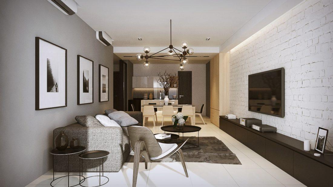 Interior Design LaCosta Kuala Lumpur Malaysia Living Room V2