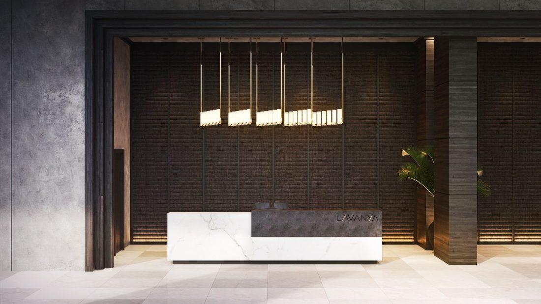Interior Design Lavanya Residences Langkawi Malaysia Lobby Design v1