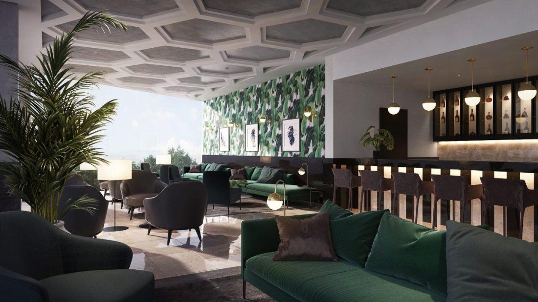 Interior Design Lavanya Residences Langkawi Malaysia Lounge Design v1