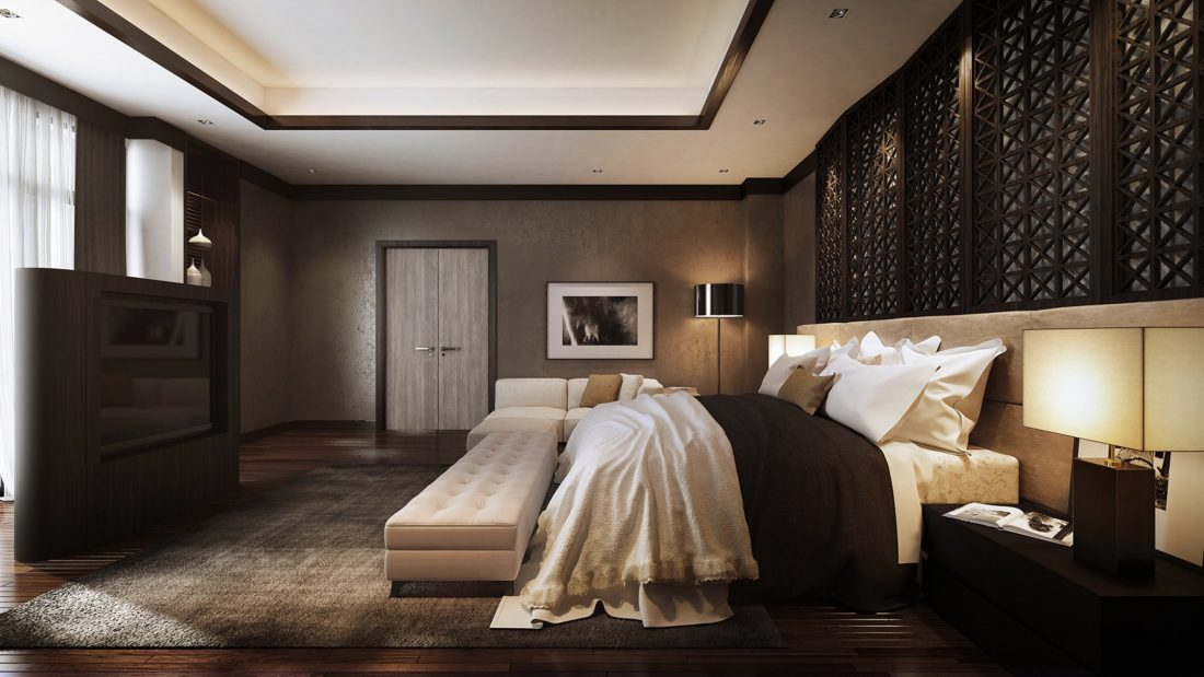 Interior Design Lavanya Residences Langkawi Malaysia Master Bedroom Design v1