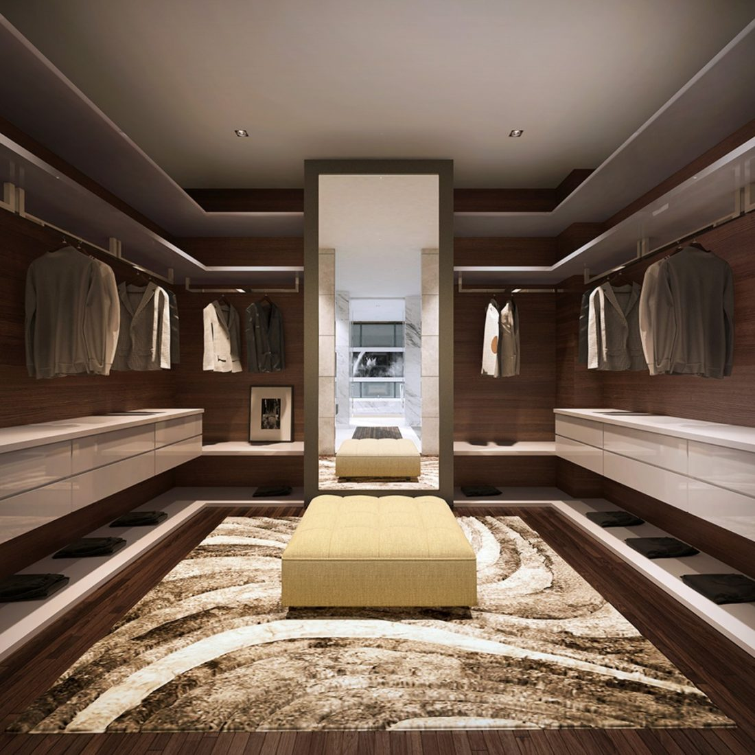 Interior Design Lavanya Residences Langkawi Malaysia Master Wardrobe Design v1
