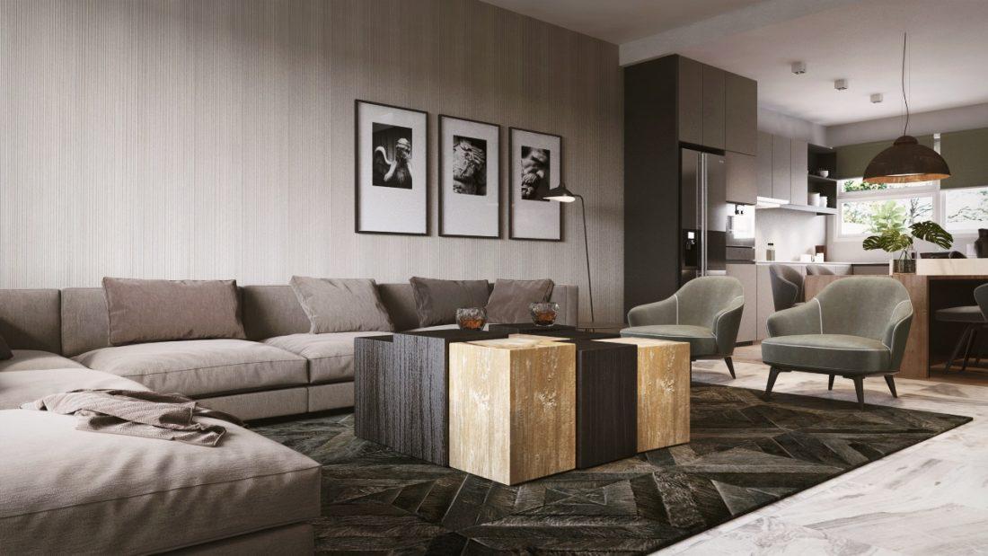 Interior Design Permai Gardens Villas Penang Malaysia Living Room Design v1