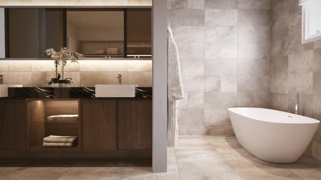 Interior Design Permai Gardens Villas Penang Malaysia Master Bathroom v1