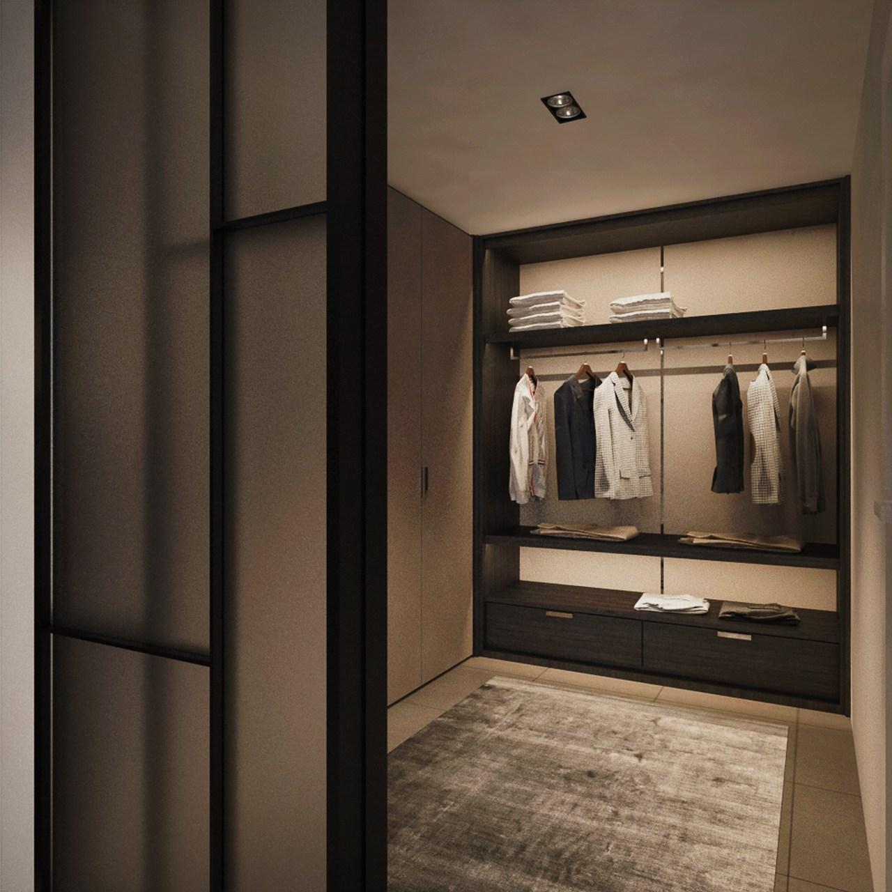 Interior Design Sa65 Semi D Penang Malaysia Master Bedroom V6