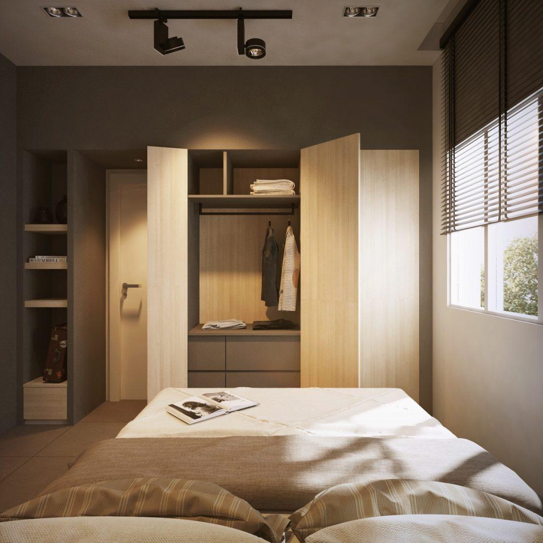 Interior Design SA65 Simpang Ampat Penang Malaysia Bedroom Design 2 v1