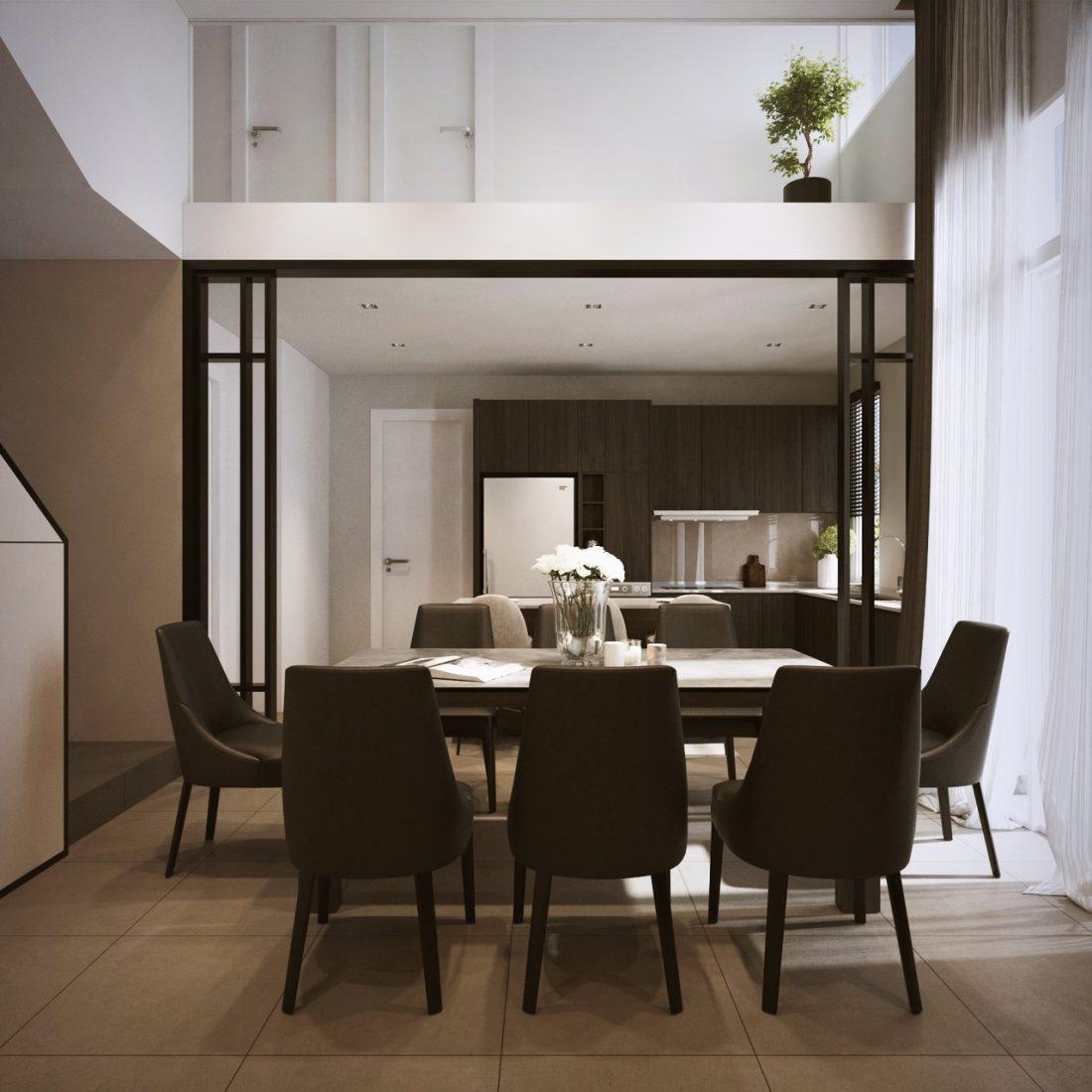Interior Design SA65 Simpang Ampat Penang Malaysia Dining Room Design v1
