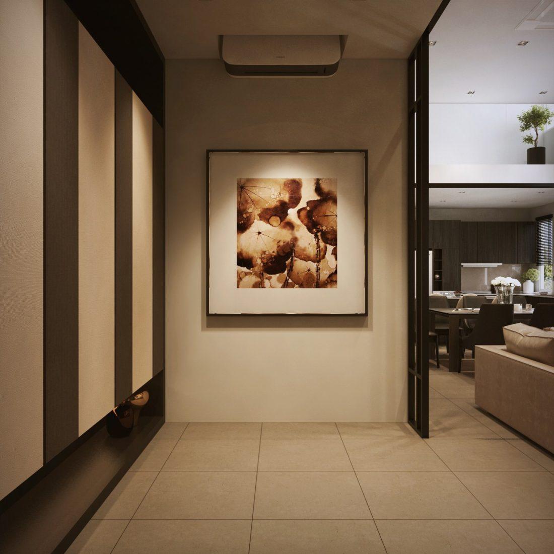 Interior Design SA65 Simpang Ampat Penang Malaysia Foyer Design v1