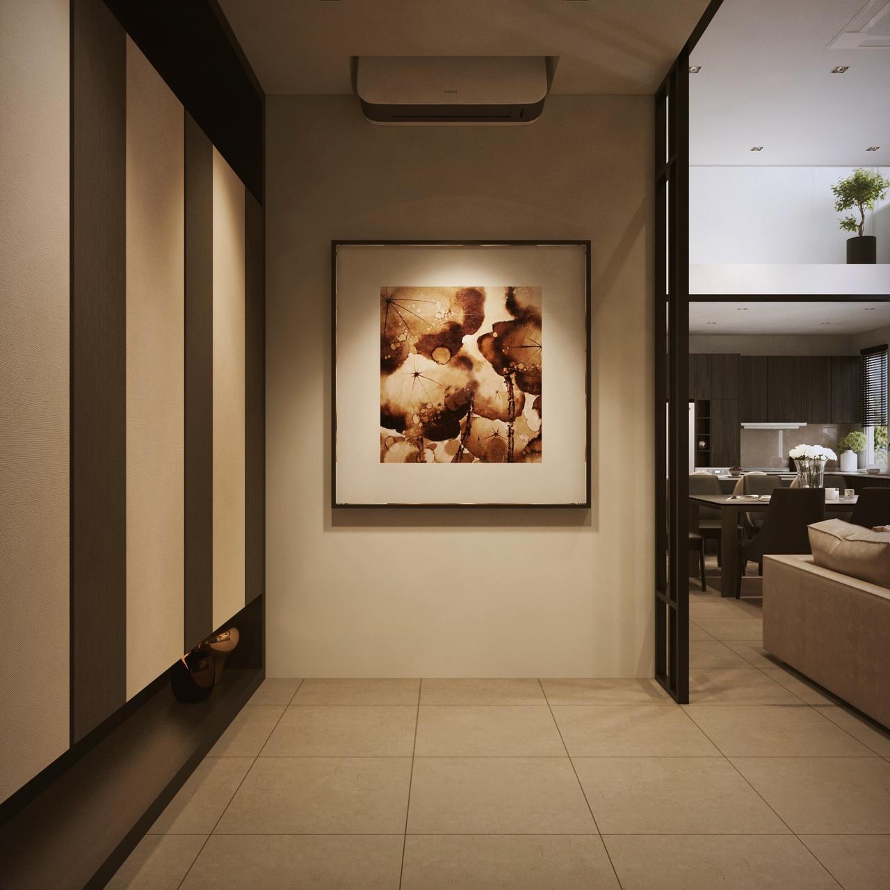 D Exhibition Penang : Interior design sa65 simpang ampat penang malaysia foyer design v1