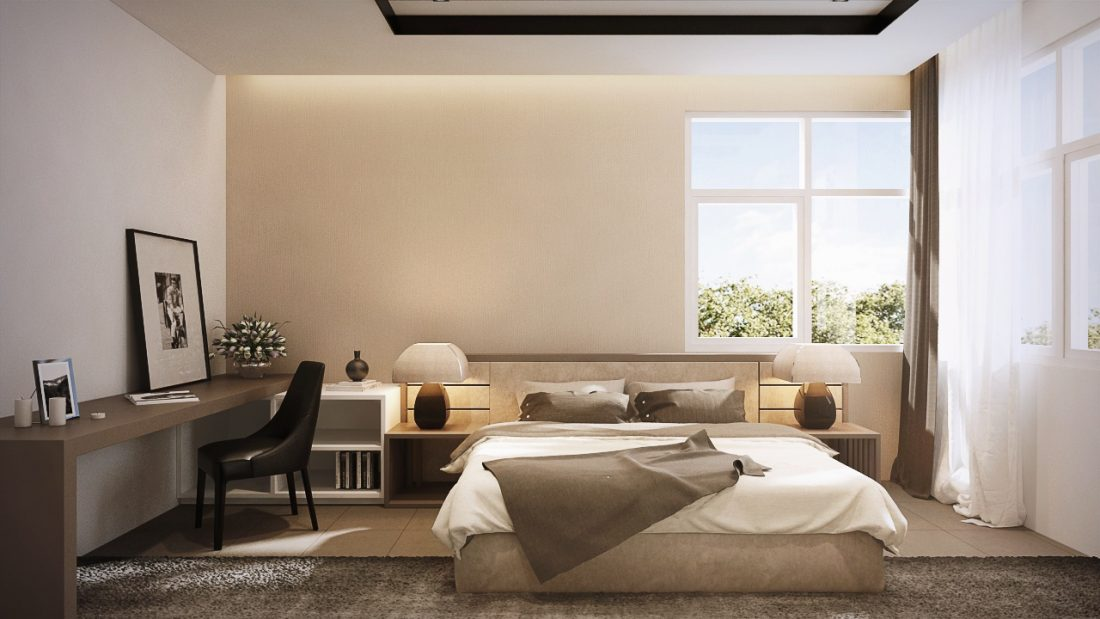 Interior Design SA65 Simpang Ampat Penang Malaysia Junior Master Bedroom v2