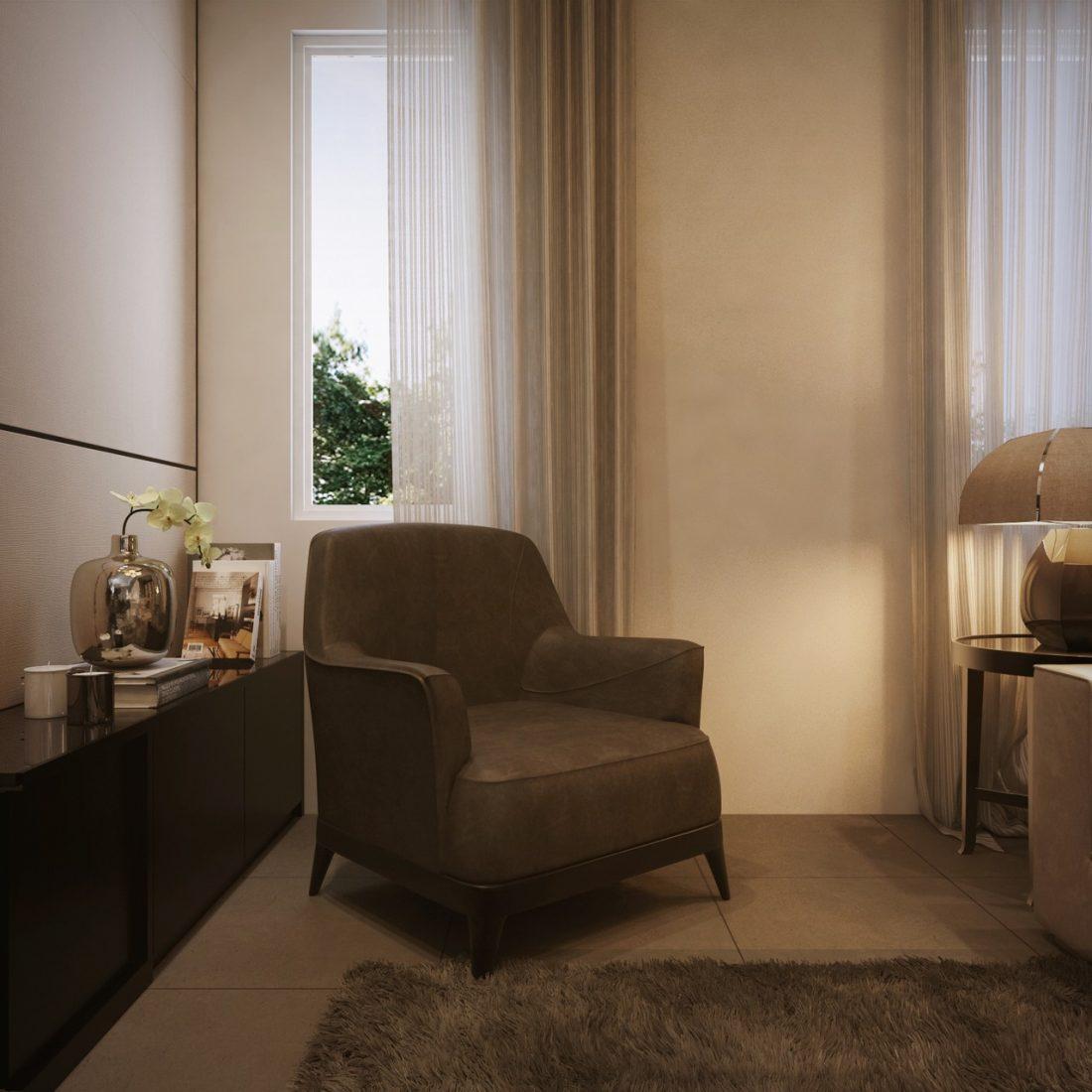 Interior Design SA65 Simpang Ampat Penang Malaysia Living Room Design v3