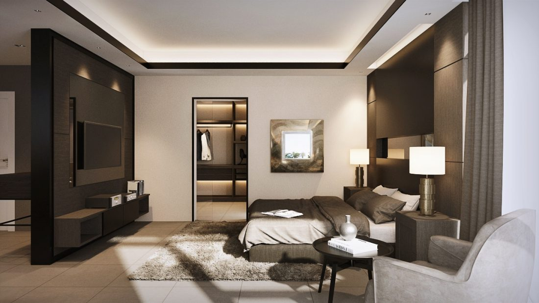 Interior Design SA65 Simpang Ampat Penang Malaysia Master Bedroom Design v2
