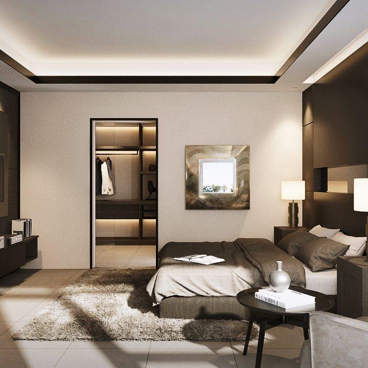Furniture SA65 Simpang Ampat Penang Malaysia Master Bedroom Design v2