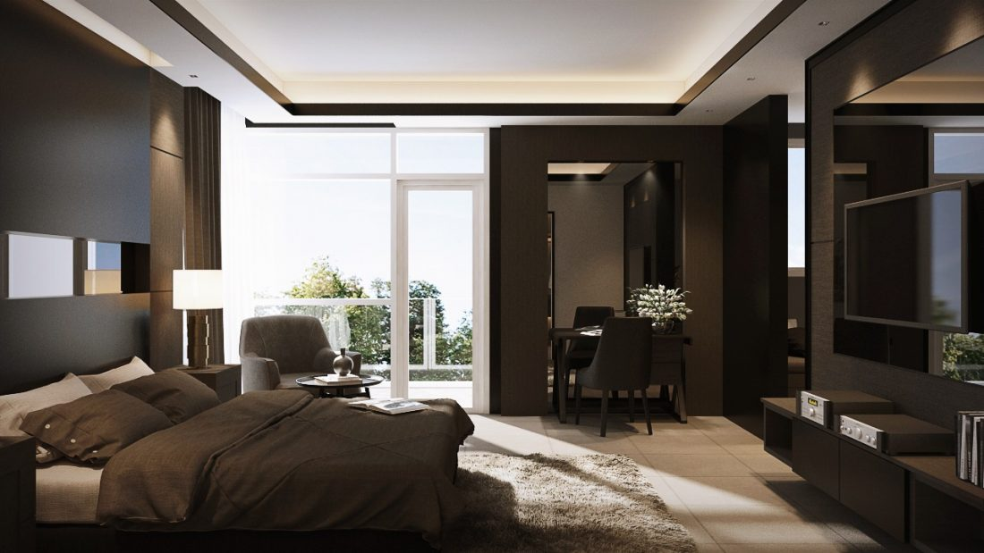 Interior Design SA65 Simpang Ampat Penang Malaysia Master Bedroom Design v3