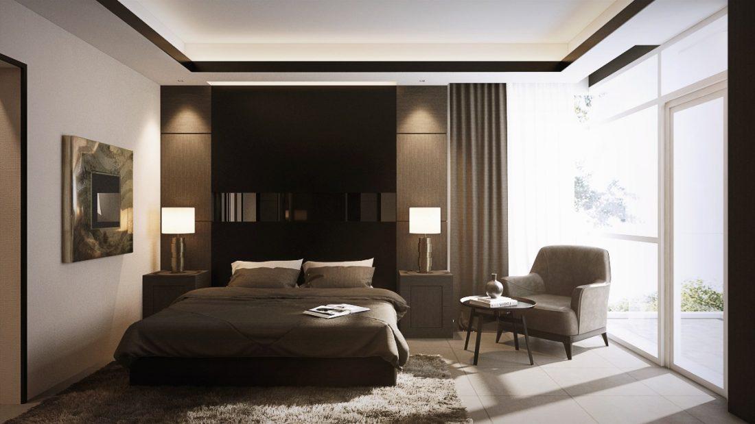 Interior Design SA65 Simpang Ampat Penang Malaysia Master Bedroom Design v4