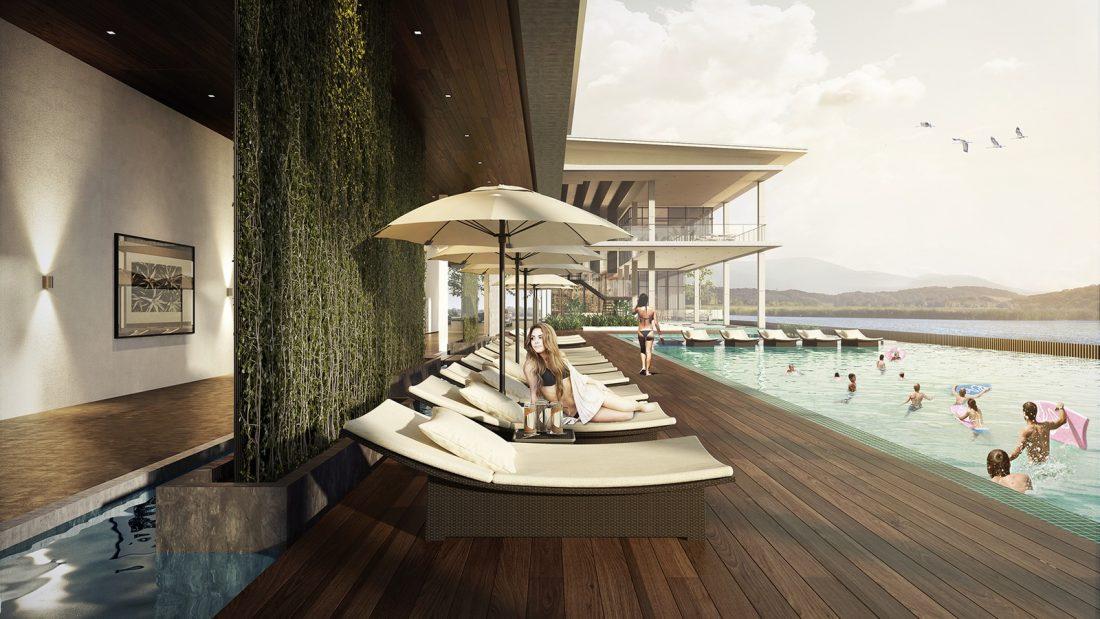 Interior Design The Palms Residence Perak Malaysia Landscape Design v2