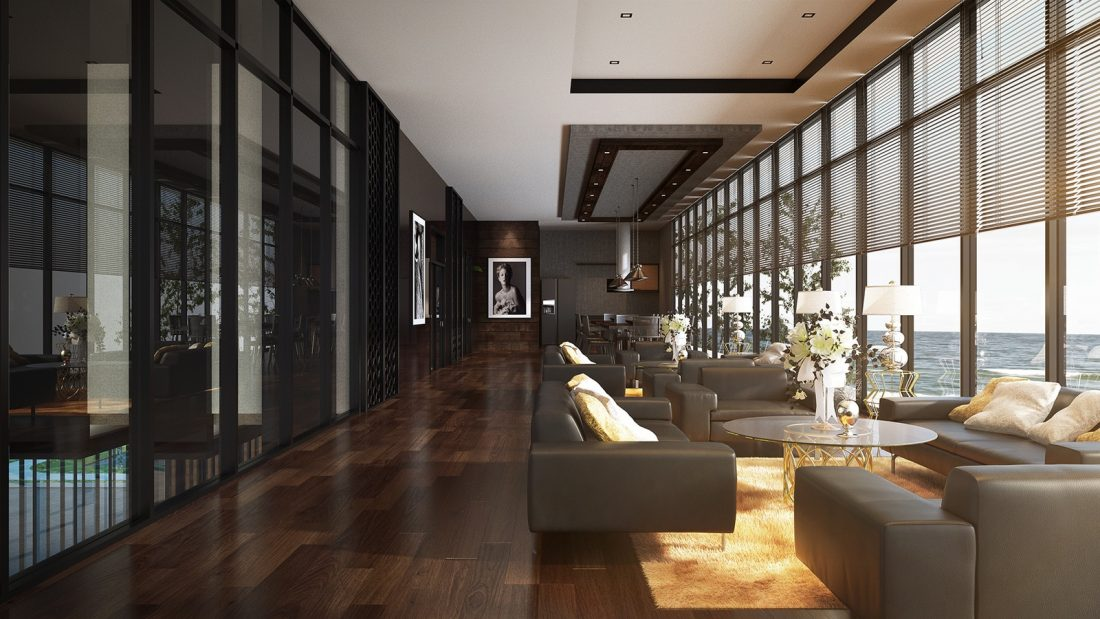 Interior Design The Palms Residence Perak Malaysia Lounge Design v1