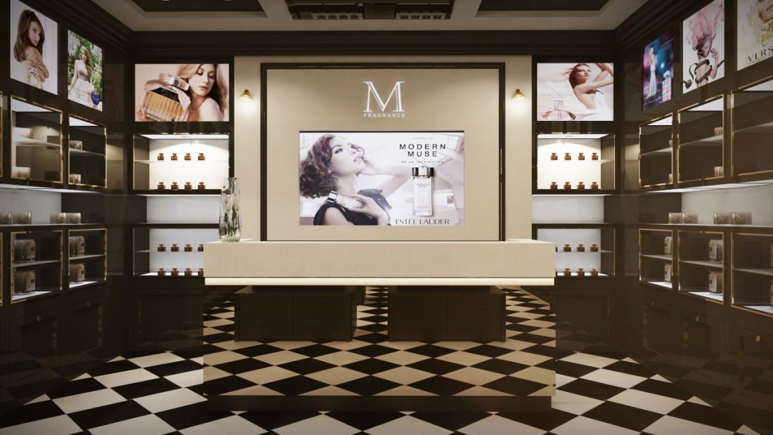 Commercial Interior Design M Fragrance Penang Malaysia v2