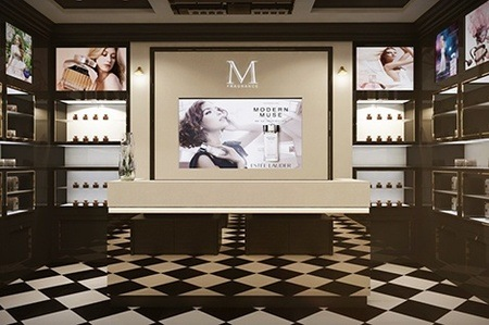 Commercial Interior Design M Fragrance Penang Malaysia