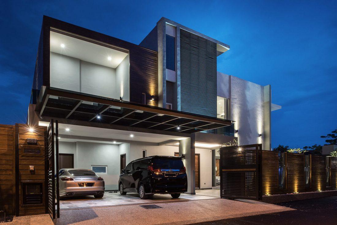 Exterior Design Private Bungalow Alor Setar Kedah Malaysia v6