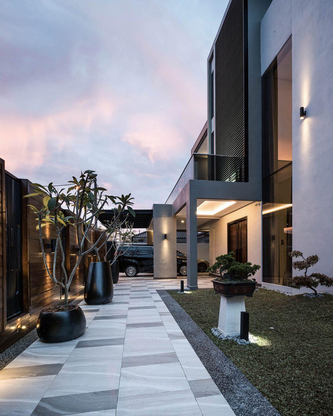Exterior Design Private Bungalow Alor Setar Kedah Malaysia v7