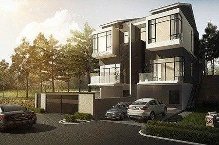 Exterior Design Semi-D Penang Malaysia