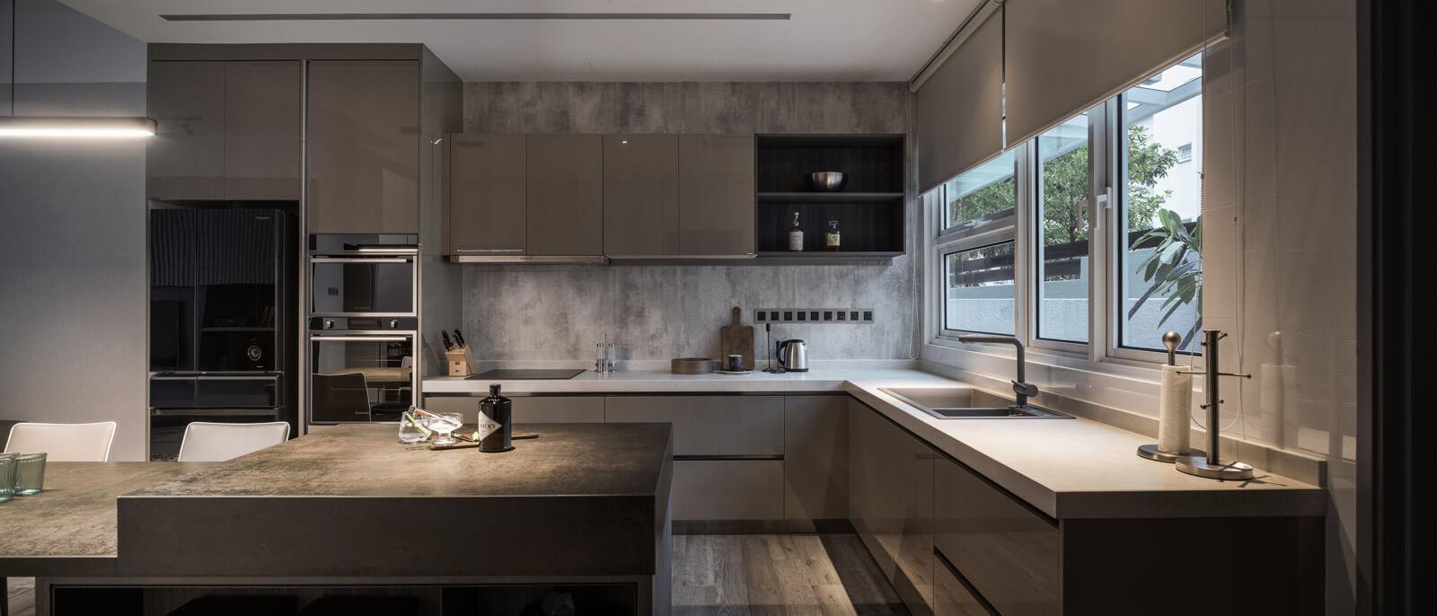 Interior Design Permai Gardens Villas Penang Malaysia Kitchen Design