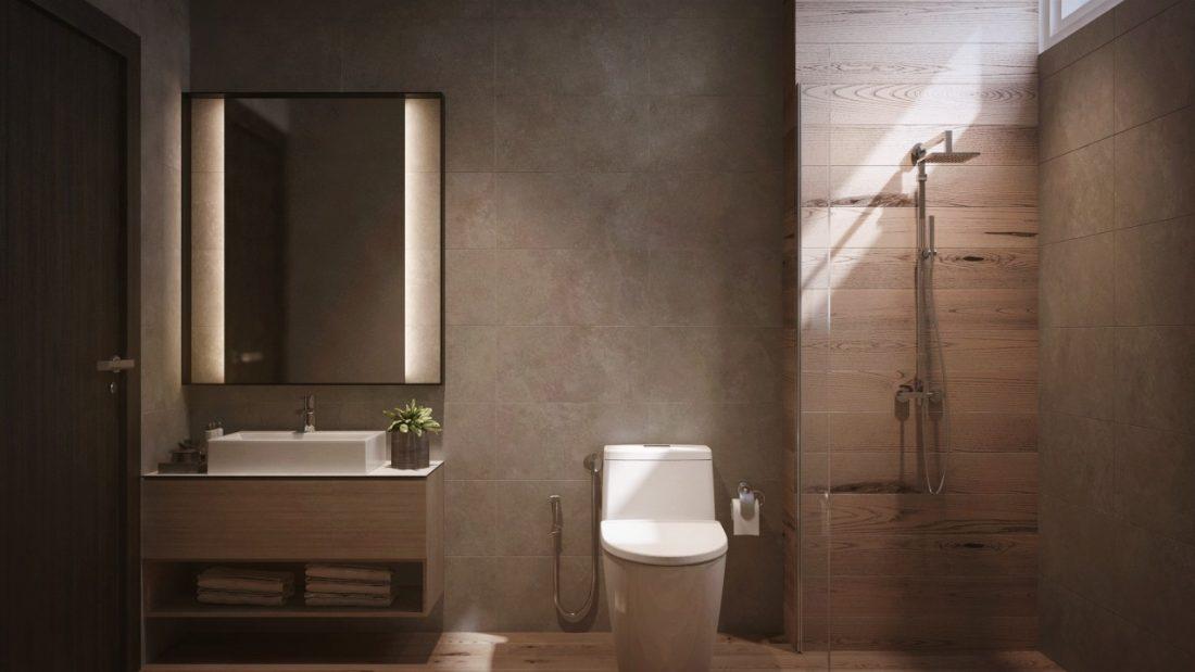 Interior Design Private Bungalow Alor Setar Kedah Malaysia Bathroom Design 2 v1