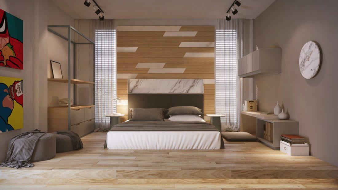 Interior Design Private Bungalow Alor Setar Kedah Malaysia Bedroom Design 1 v1