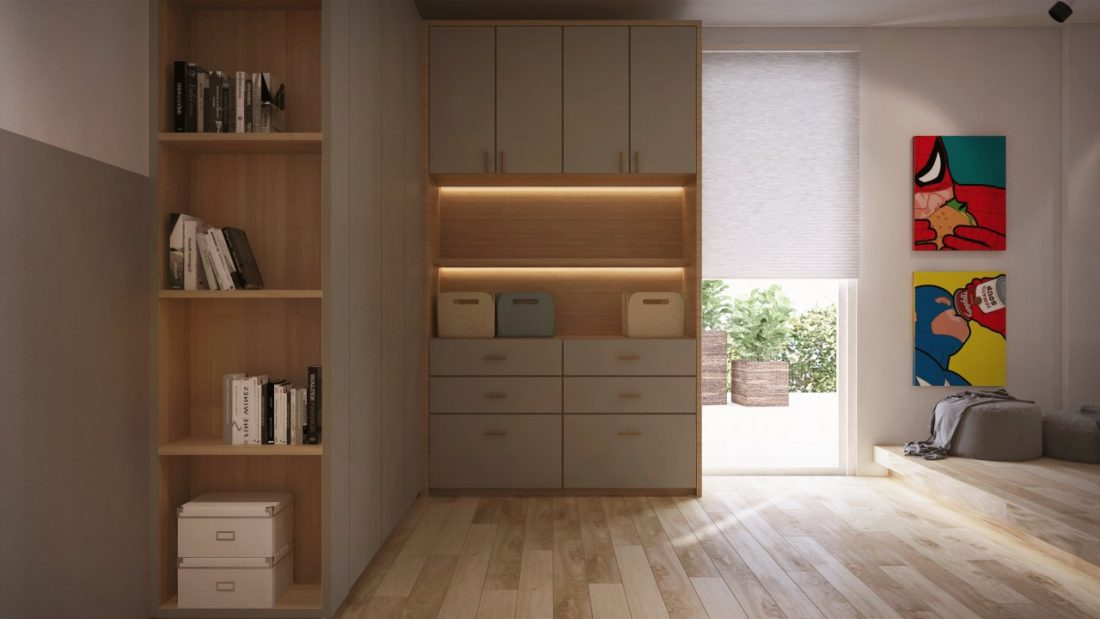 Interior Design Private Bungalow Alor Setar Kedah Malaysia Bedroom Design 1 v2