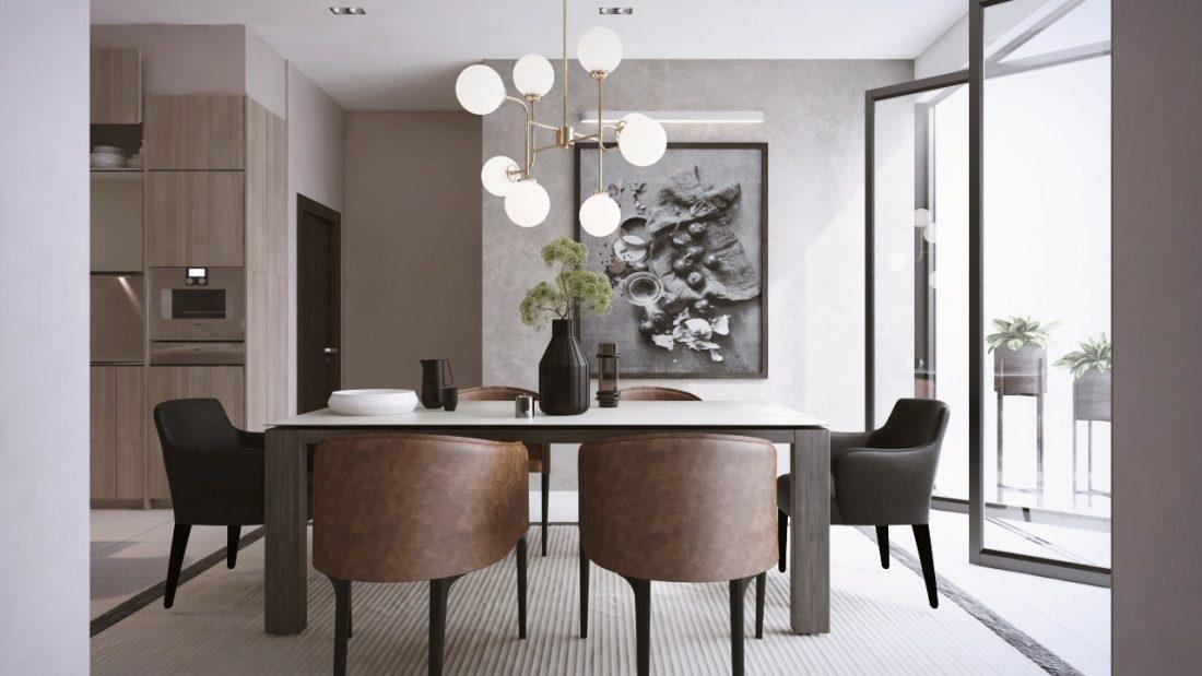 Interior Design Private Bungalow Alor Setar Kedah Malaysia Dining Room Design v1