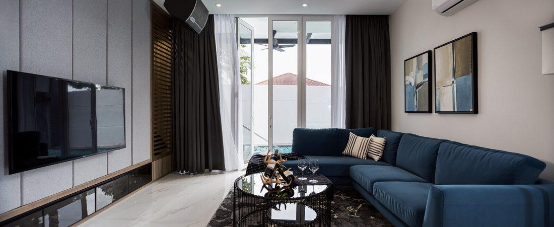 Interior Design Private Bungalow Alor Setar Kedah Malaysia Entertainment Room Design v1