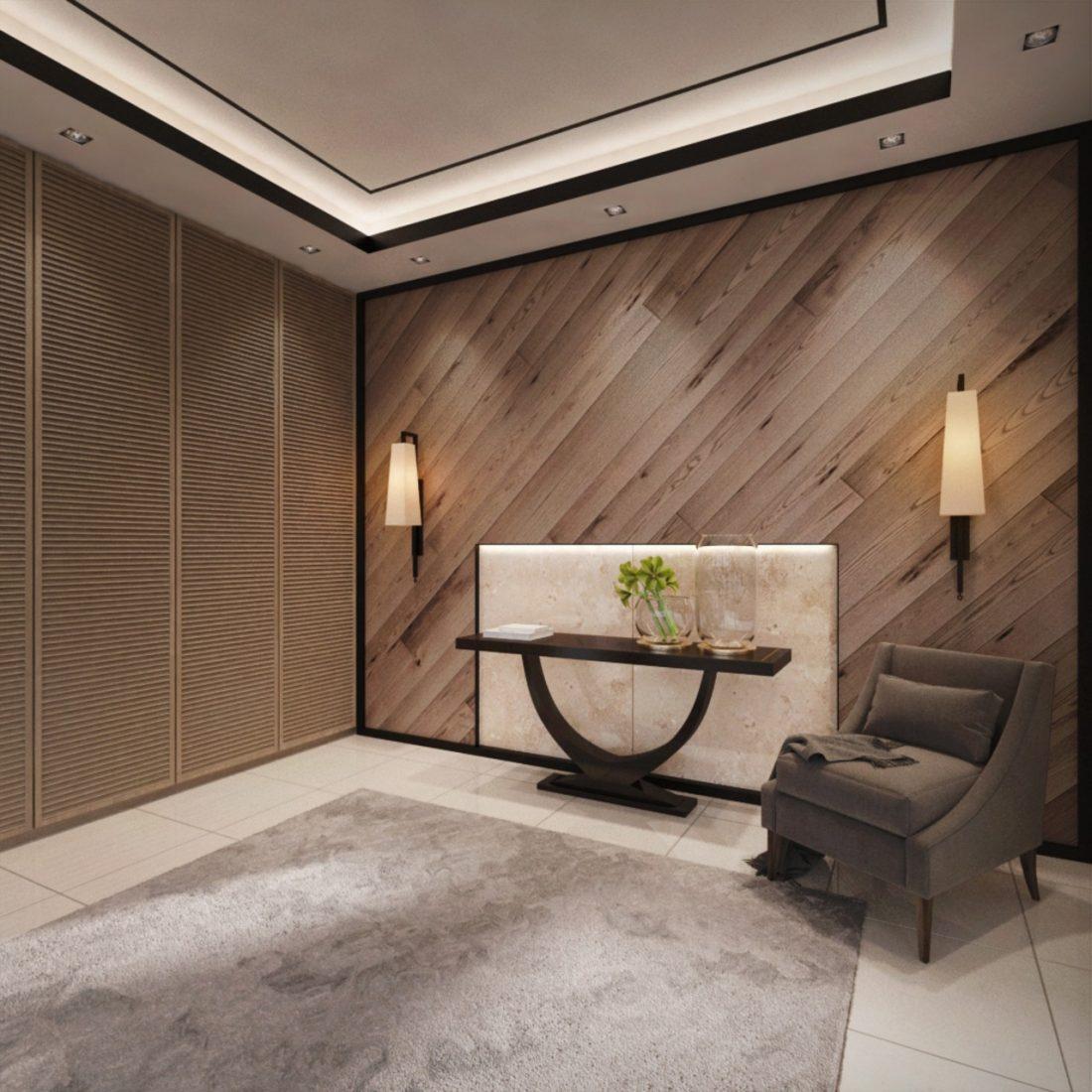 Interior Design Private Bungalow Alor Setar Kedah Malaysia Foyer Design v1