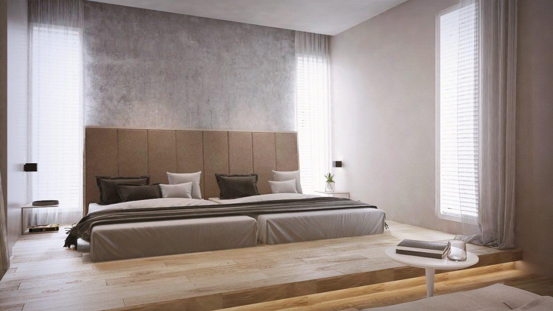 Interior Design Private Bungalow Alor Setar Kedah Malaysia Junior Master Bedroom v1