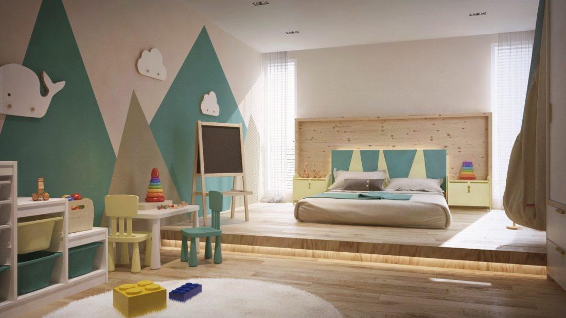 Interior Design Private Bungalow Alor Setar Kedah Malaysia Kids Bedroom Design v2