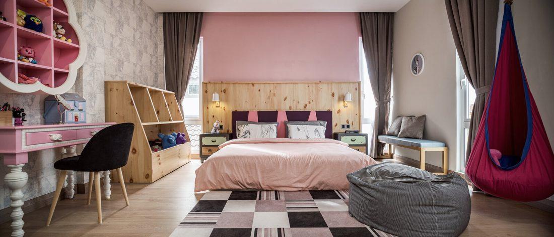 Interior Design Private Bungalow Alor Setar Kedah Malaysia Kids Room Design v1