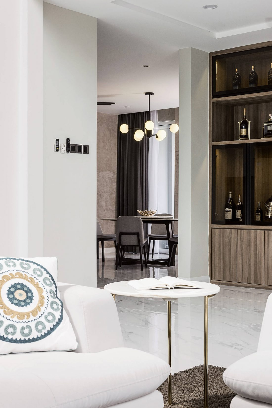 Interior Design Private Bungalow Alor Setar Kedah Malaysia Living Room Design v5