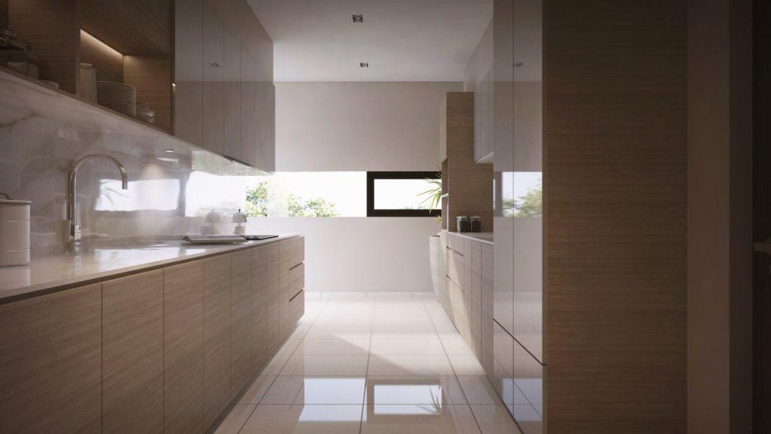 Interior Design Private Bungalow Alor Setar Kedah Malaysia Wet Kitchen Design v1