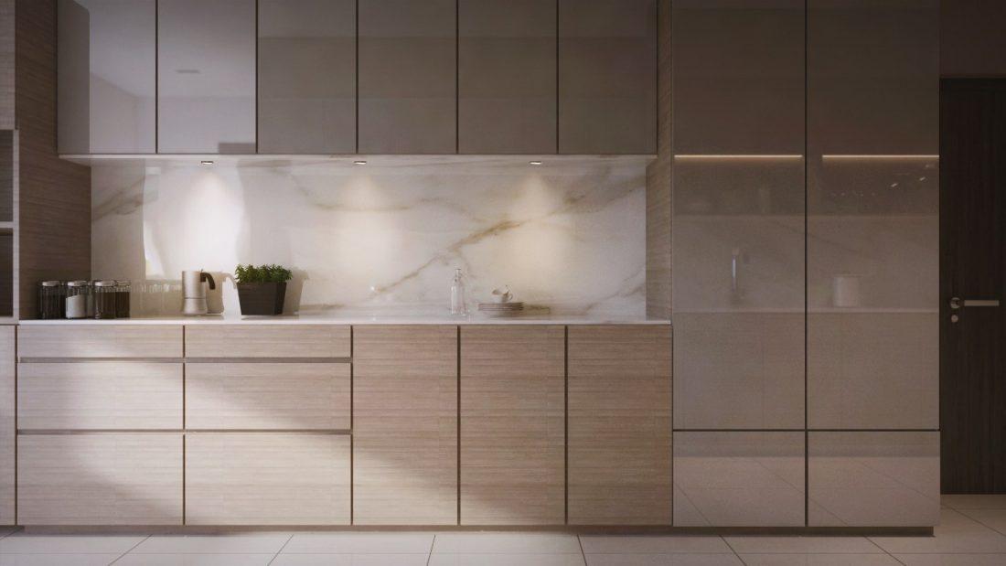 Interior Design Private Bungalow Alor Setar Kedah Malaysia Wet Kitchen Design v2