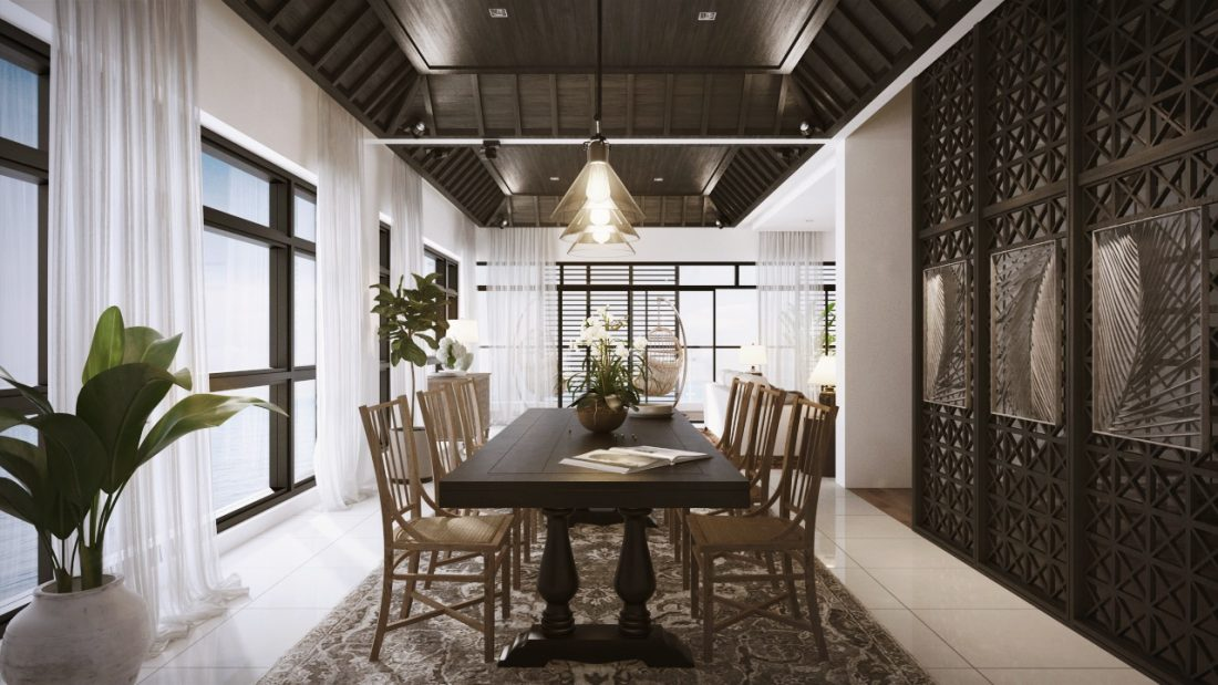 Interior Design The Light Collection III Penang Malaysia Dining Room Design v1