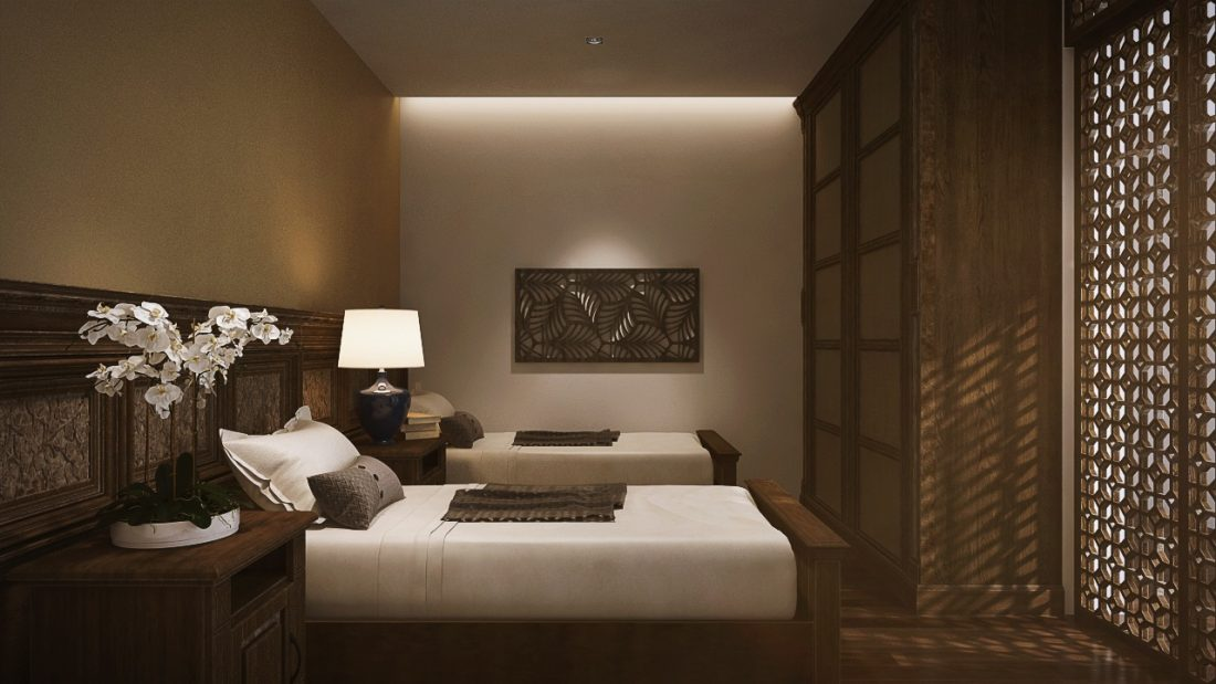 Interior Design The Light Collection III Penang Malaysia Guest Bedroom Design v1