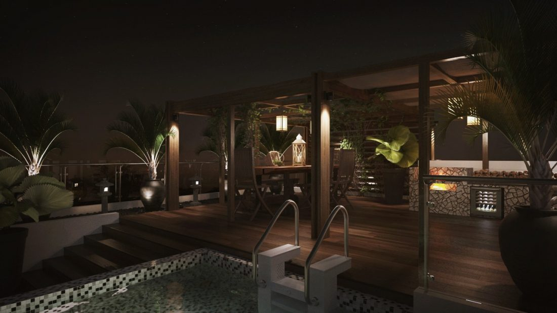 Interior Design The Light Collection III Penang Malaysia Landscape Design v4