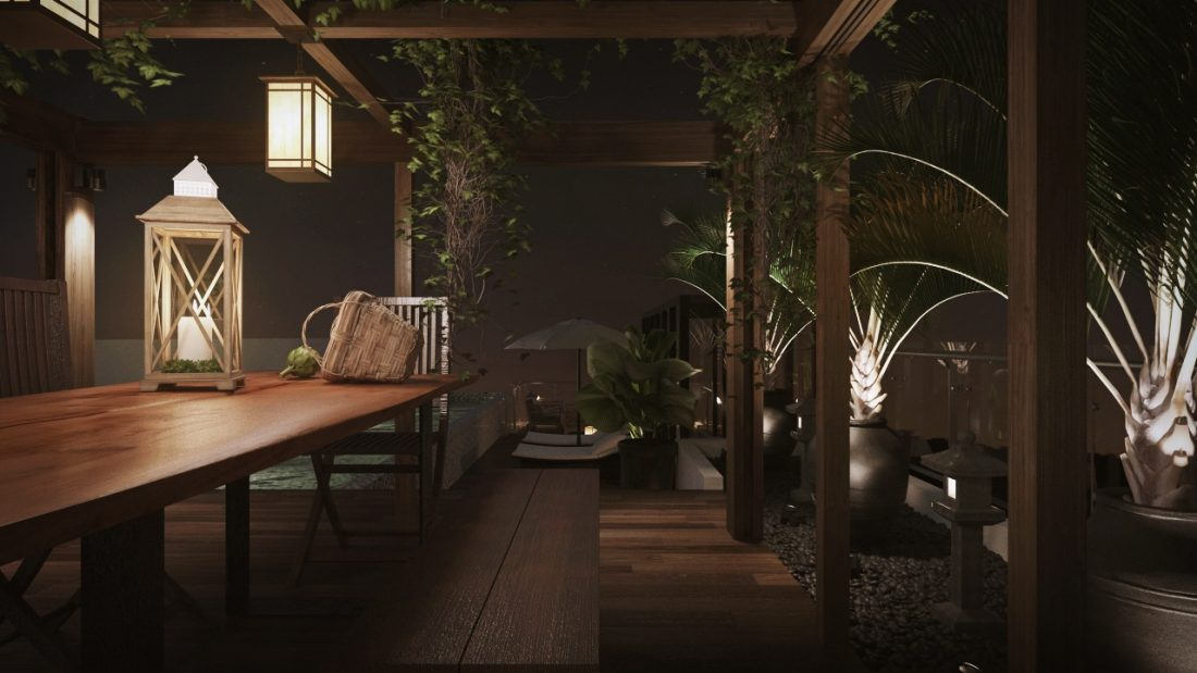 Interior Design The Light Collection III Penang Malaysia Landscape Design v6