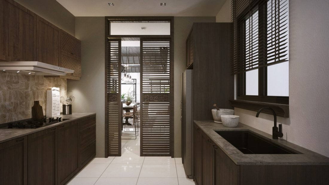Interior Design The Light Collection III Penang Malaysia Wet Kitchen Design v1