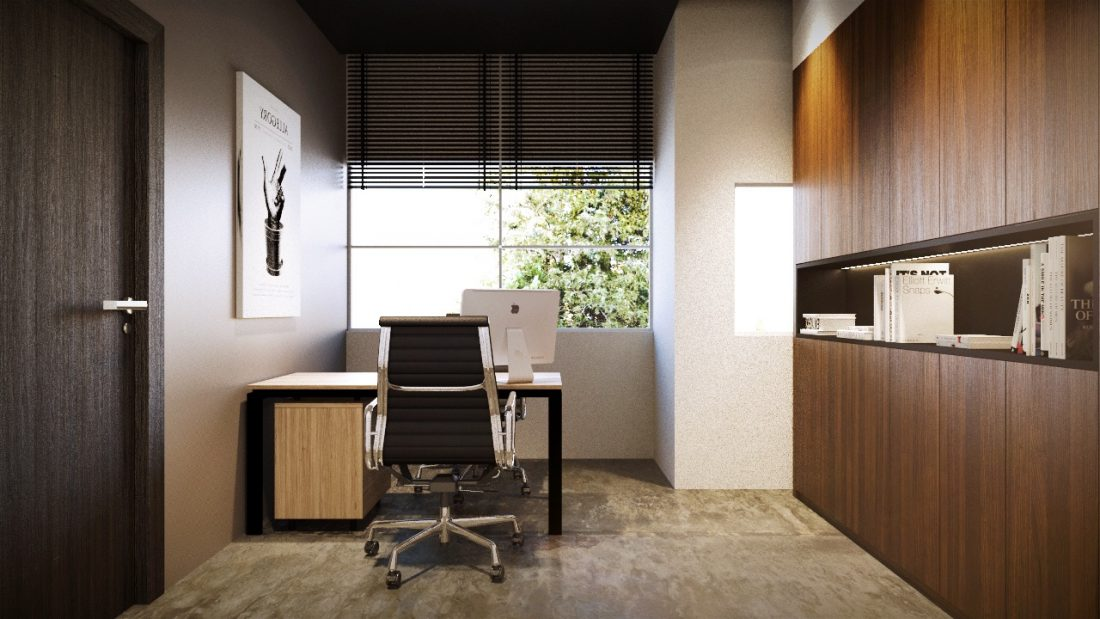 Office Interior Design Keyanne Office Penang Malaysia Director Room Design